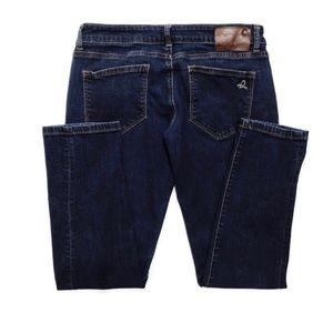 DL1961 Jeans - DL1961 Dark Wash Riley Boyfriend Jeans 16-0374